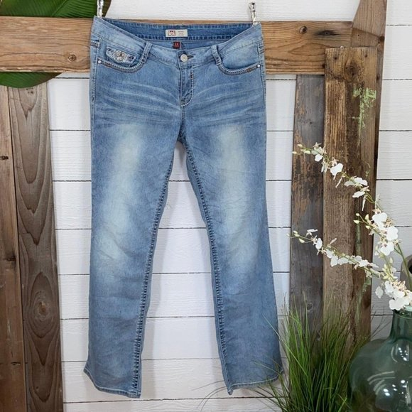 Lei Denim - Lei Ashley Low Rise BootCut Juniors Jeans